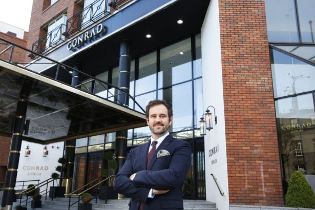 Conrad Dublin Hotel Appoints New General Manager